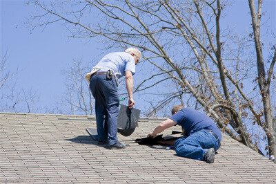 This is a picture of roofing service.